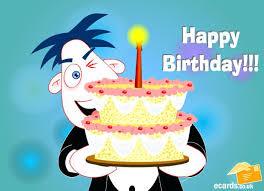 E Birthday Card Animated Email Birthday Cards Birthday Longer Birthday This Belated