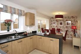 kitchen design ideas for small kitchen distress wood cabinet brown square floor tiles vintage black