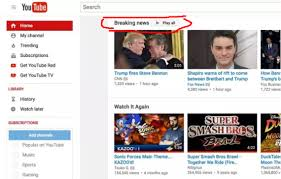 YouTube Rolls Out 'Breaking News' Feed On Desktop Site And Mobile Apps -  Tubefilter