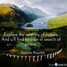 Explore The Serenity Of N Quotes Writings By Anshika Kaushik