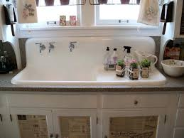 vintage metal kitchen sink cabinet style sinks for sale old uk