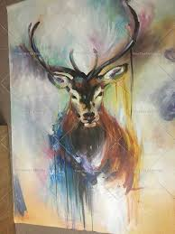 best ing handmade items colorful abstract paintings animals oil painting deer oil paintings wall decor wallpapers home decor in painting calligraphy