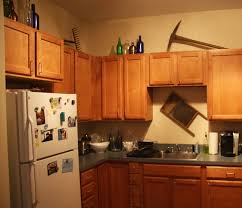 Kitchen Cabinet Decoration Decor On Top Of Cabinets 25 Best Ideas About Above Cabinet Decor
