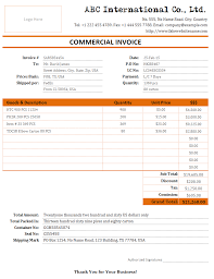 Invoice For Shipping 8 Shipping Invoice Templates Word Excel Pdf Templates Shipping