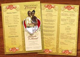 wedding party program templates 8 wedding event program templates psd vector eps ai