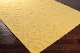 yellow area rug  artistic weavers central park zara