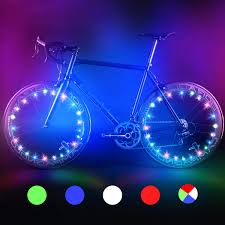 Wheel Lights Amazon Com Bodyguard Bike Wheel Lights Automatic And