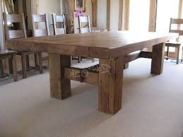 kitchen table rustic