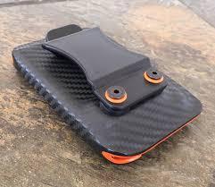 tactical kydex wallet money clip
