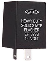 amazon com cec industries ef32ss r turn signal flasher relay led cec industries ef32ss solid state electronic turn signal flasher relay led compatible 2 prongs