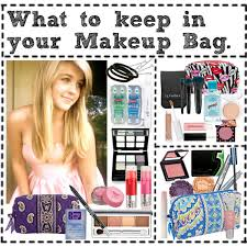 have item what to keep in your makeup bag