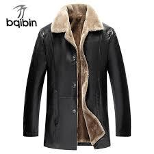 winter fur leather jacket mens plus size 5xl suede leather jackets men faux fur thick warm long suede jacket d19010903 denim jackets with fur denim biker