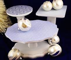 Trio Display Stands Impressive A Trio Of Festive DIY Cake Stands Mod Podge Rocks