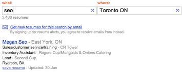 indeed job search resume indeed