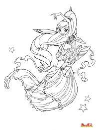 Stampa E Colora I Simpatici Personaggi Del Cartone Animato Le Winxs
