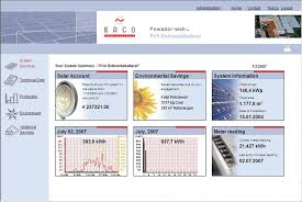 monitoring grid tied pv systems home power magazine kaco solar screenshot 1
