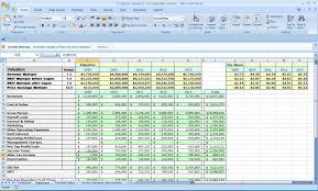 Business Plan Spreadsheet Template Financial Excel Pdf Free Uk