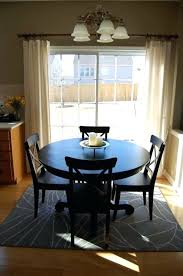 rug under kitchen table stunning attractive round rugs for dining room ideas including area what size