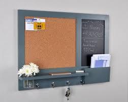 large chalkboard and cork board