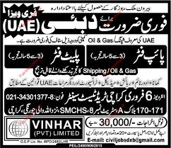 Wanted Pipe Fitter Plate Fitter In Dubai Uae Oil Gas