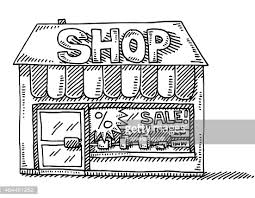 store clipart black and white.  Clipart And Store Clipart Black White Pd4Pic