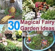 how to build a fairy garden. 30 Magical Fairy Garden Ideas To Make Your | Diycozyworld - Home Improvement And Tips How Build A D