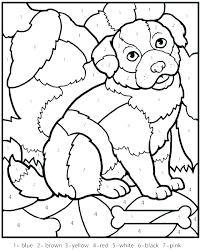 math coloring sheets printable free worksheets for grade pages cool color by dog colo math coloring pages