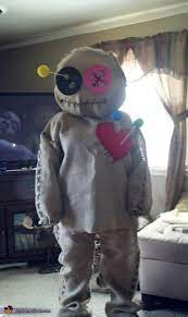 voodoo doll costume how to tutorial
