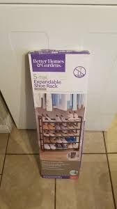 better homes gardens 5 tier expandable shoe rack ok for in el paso tx offerup