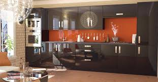best kitchen designers. Kitchen, Glossy Black Cabinets Colors With Minimalis Style And Modern Oven Best Kitchen Design Ideas Designers R