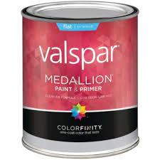 valspar medallion exterior latex paint