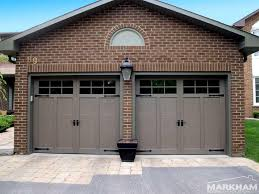 brown garage doors with windows. Haas-Door-American-Traditions-921-with-6-Pane- Brown Garage Doors With Windows