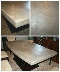 concrete top dining table. DIY Concrete Table Top: Chic And Durable Top Dining