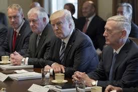 Us Cabinet Secretaries Trump Aides Monitor Loyalty Of Cabinet Secretaries Report