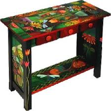 hand painted furnitureHand Painted Console Tables  Foter