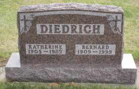 Bernard Diedrich (1909-1999) - Find A Grave Memorial