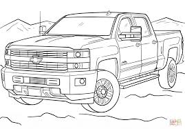 Small Picture 2017 Chevrolet Silverado 3500hd High Country coloring page Free
