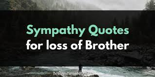 Loss Of Brother Quotes Enchanting Sympathy Messages For The Loss Of A Brother That Will Bring Comfort