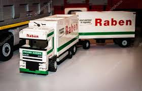 truck daf xf with raben pany logo