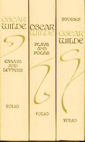 oscar wilde in vol box set stories plays poems essays  oscar wilde in 3 vol box set stories plays poems essays letters folio society 1993 oscar wilde merlin holland archie beck com books
