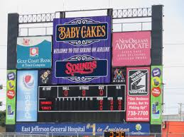 Baby Cakes Seating Chart Shrine On Airline New Orleans Baby Cakes Stadium Journey
