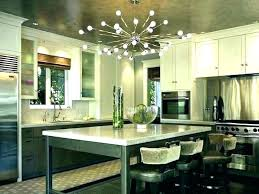 chandelier over kitchen table dining room crystal
