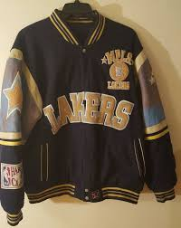 Jh Design Nba Jackets Vtg Nba Varsity Jacket Jh Design Reversible Mpls Lakers 3xl