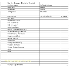Employee Orientation Template New Employee Orientation Template Gallery Of Schedule Plan
