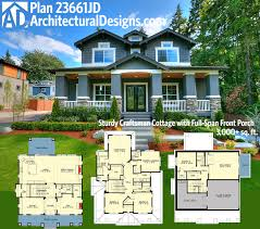 load modern beach. Small House Plans With Garage Underneath Plan Storybook Bungalow Bonus Over The Architectural Designs Craftsman Jd Load Modern Beach 5