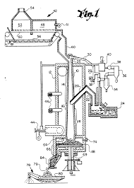 Patent ep0387479a1 continuous feed shaft retort process and