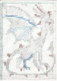 Design A Custom Knitting Pattern On Graph Paper By Draconiene