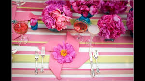 easy simple diy bridal shower party decorations