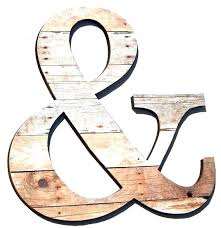 custom made wall letters custom made wooden letters wall hanging ampersand custom made wood grain print custom made wall