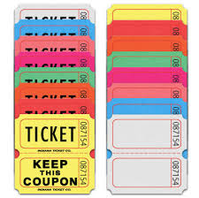 custom roll tickets original double roll tickets indiana ticket company